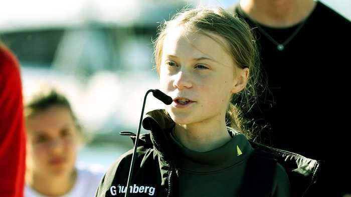 Greta Thunberg Named Time Magazine's Person Of The Year