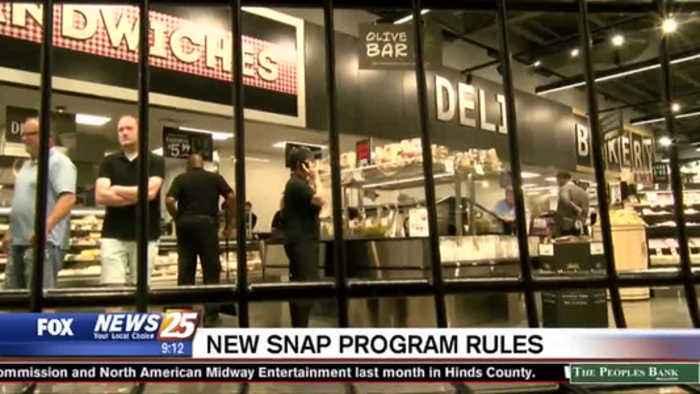 New 'SNAP' program rules