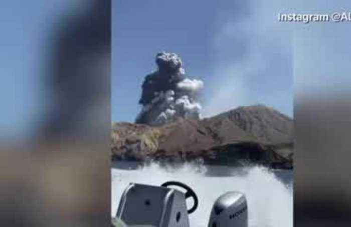 Massive amount of skin ordered to treat NZ volcano victims
