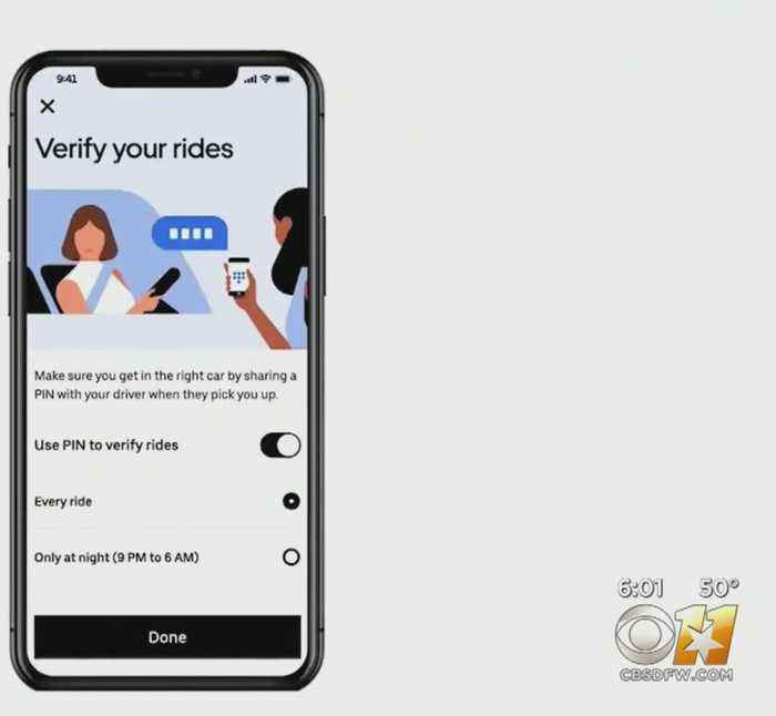 Uber Passengers In Dallas, 6 Other US Cities Get To Test New Safety Feature 'Verify My Ride'