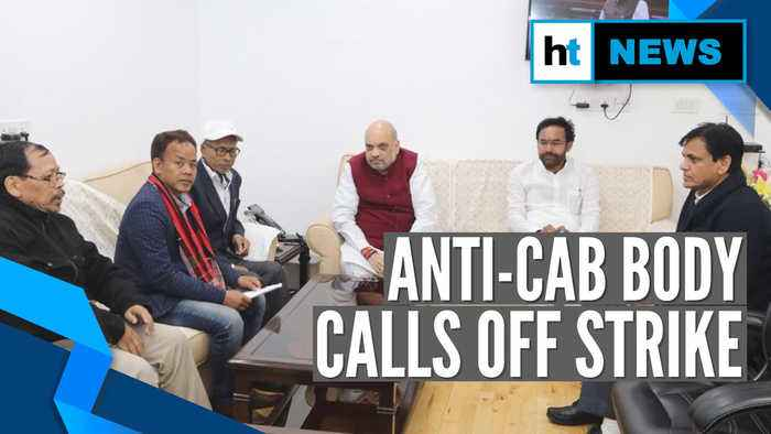After meeting HM Amit Shah, Tripura anti-CAB body cancels indefinite strike
