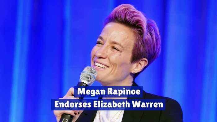 Megan Rapinoe Endorses Elizabeth Warren