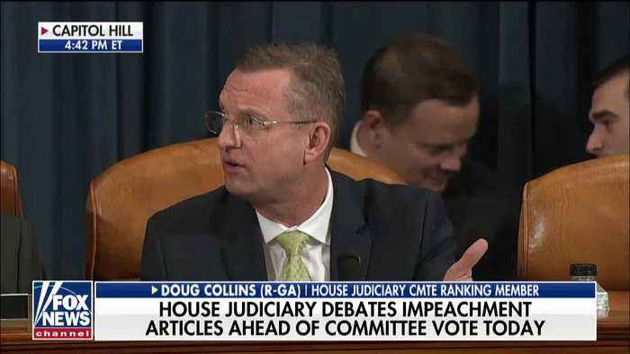 Collins storms out of impeachment hearing