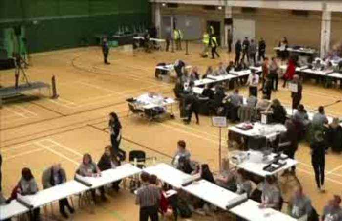UK ballots are counted as polls suggest massive win for Johnson