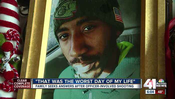 Mother of man killed by Kansas City, Missouri, police says deadly force was uncalled for