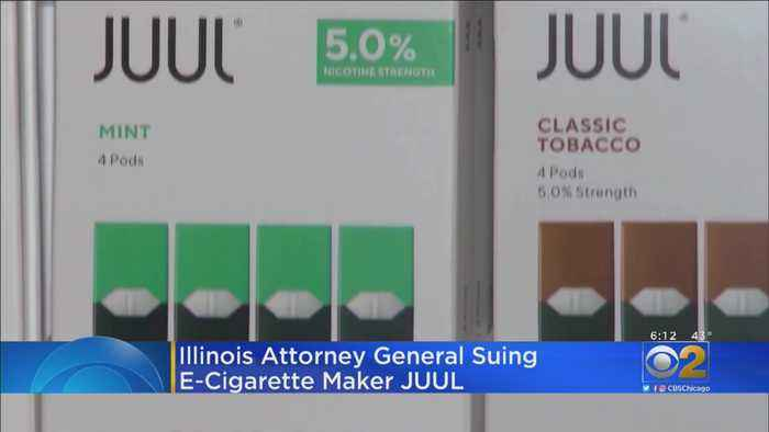 Illinois Attorney General Sues JUUL
