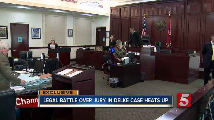 Legal battle escalates over request for outside jury in Andrew Delke murder case