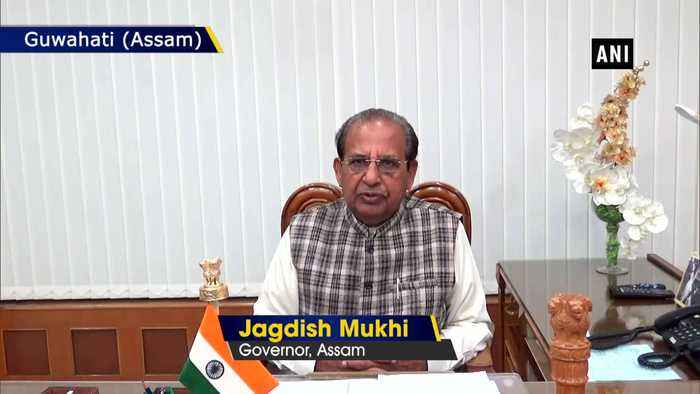 Assam Governor Jagdish Mukhi appeals people to maintain peace in state