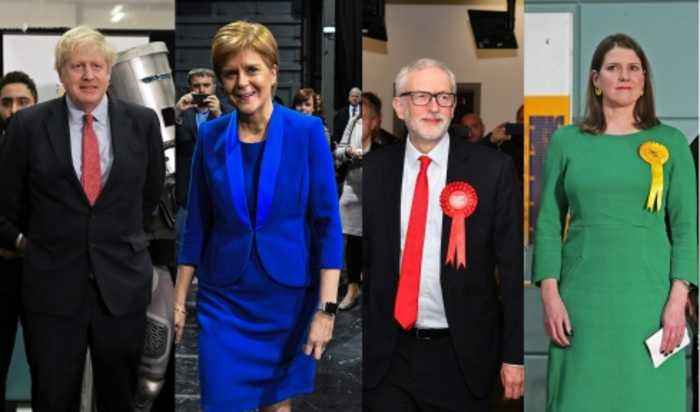 Leaders react to general election result