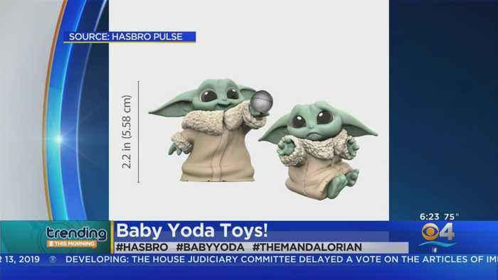 Trending: Baby Yoda Toys
