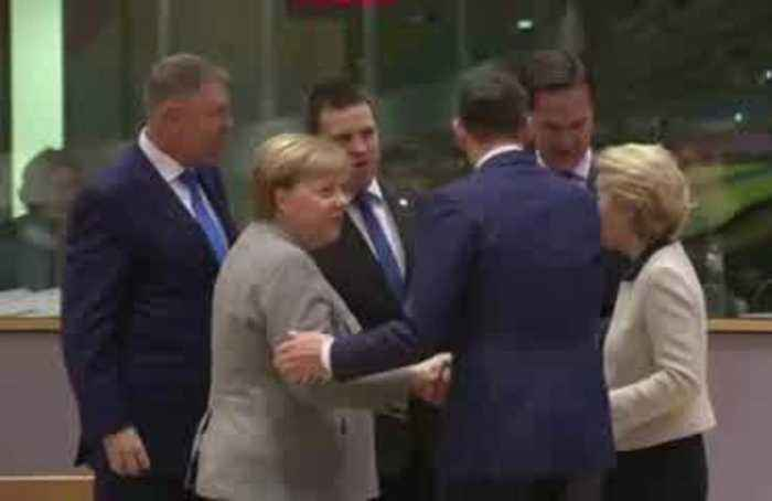 EU leaders congratulate Johnson, urge quick vote on withdrawal deal