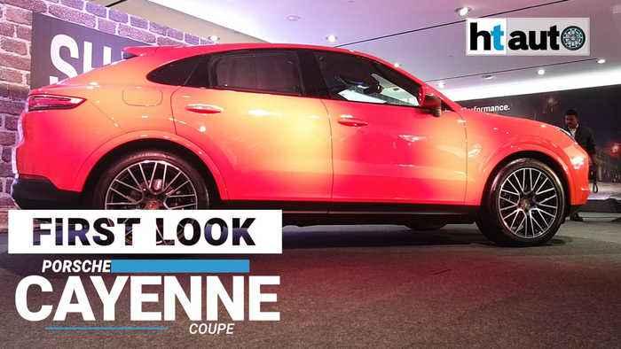 First Look: Porsche Cayenne Coupe