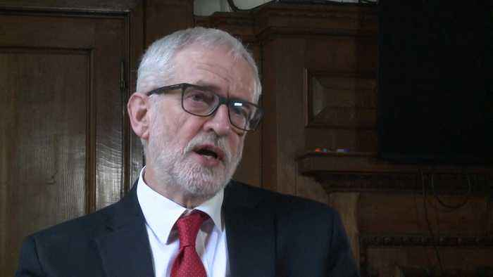 Jeremy Corbyn 'sad' over election result, saying Brexit played a major part