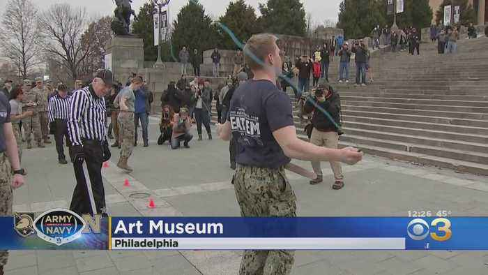 Army-Navy Patriot Games Get Underway In Philadelphia