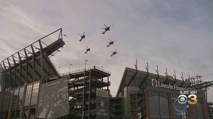 Philadelphia Native Leading Army Flyover Before Army-Navy Game At Lincoln Financial Field
