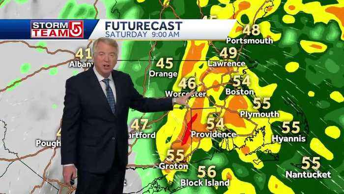 Video: Wall of water to move through region Saturday morning