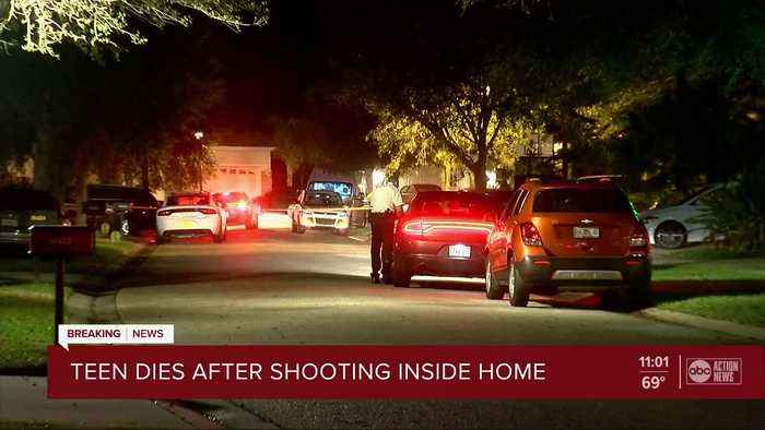 15-year-old dies after being found shot inside Tampa police officer's home, deputies say