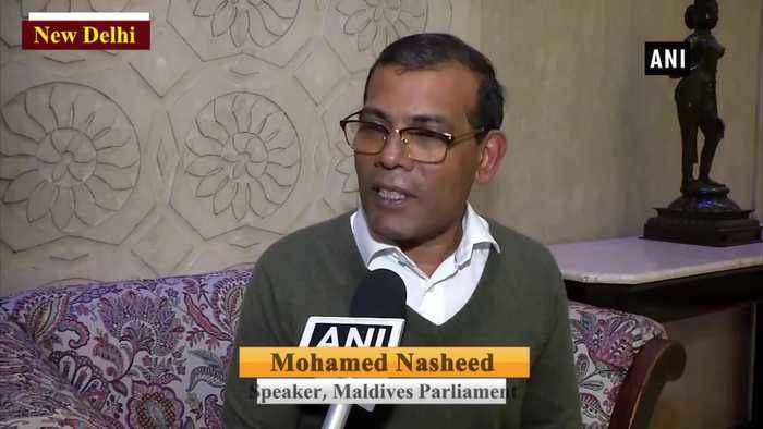 Citizenship Amendment Act internal issue of India Maldives Parliament Speaker