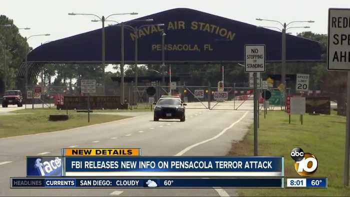 FBI releases new info on Pensacola terror attack