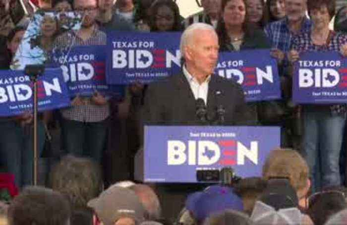 Texas a linchpin in Biden's Super Tuesday strategy