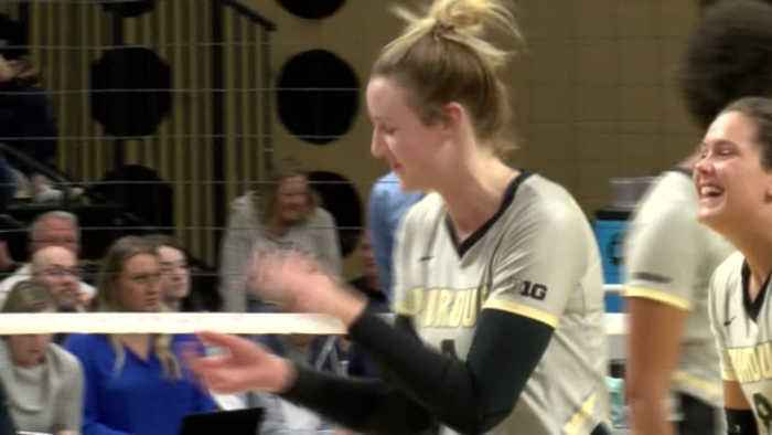 Caitlyn Newton 'a big story' for Purdue volleyball team