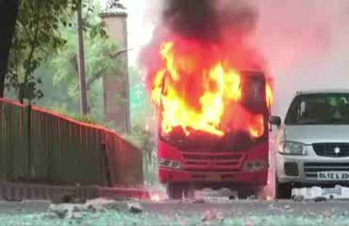 Buses torched as protests continue over India citizenship law