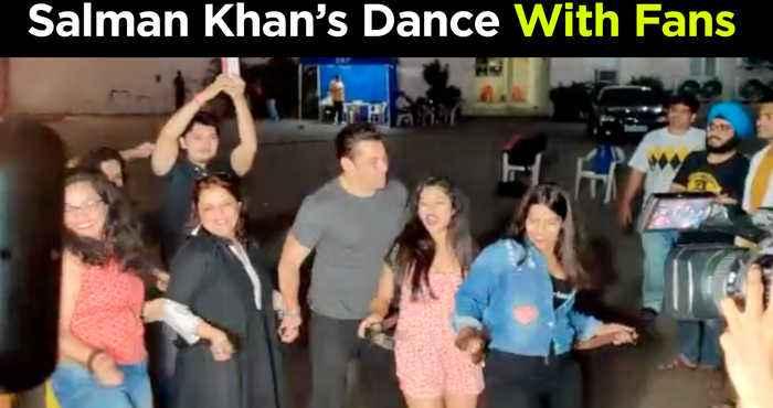 Salman Khan DANCES With Fans & Media On Munna Badnaam Hua   Dabangg 3 Promotions