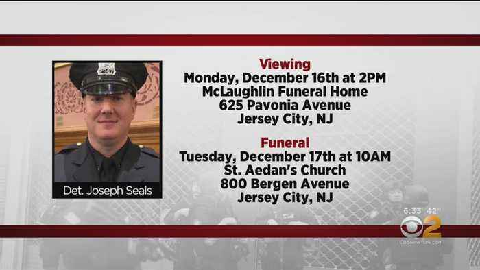 Funeral For Fallen Jersey City Detective To Be Held Tuesday