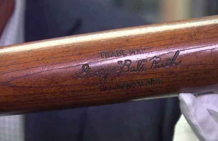 Babe Ruth bat sells for over $1 million at auction