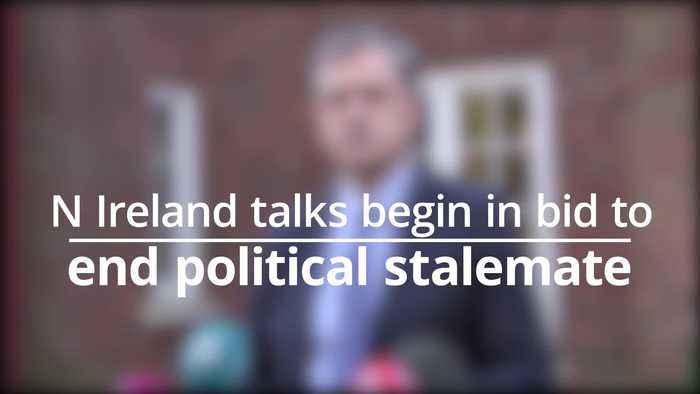 Talks begin to end political stalemate in NIreland