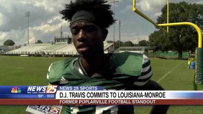 Former Poplarville standout D.J. Travis commits to Louisiana-Monroe