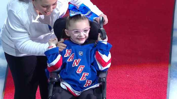 Rangers celebrate Garden of Dreams Night