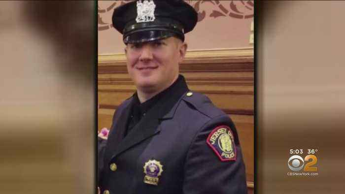 Mourners Pay Respects To Detective Killed In Jersey City Shooting