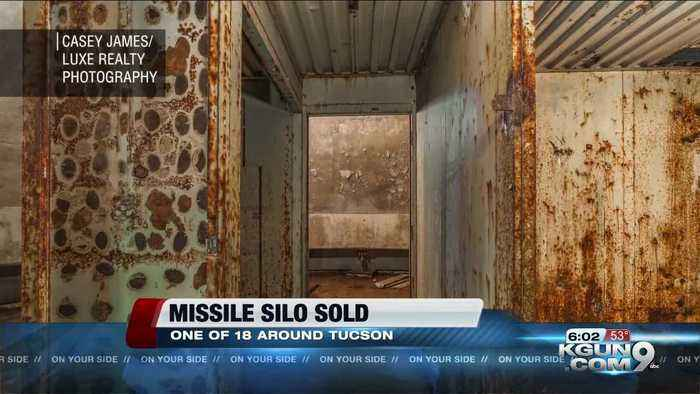 Man achieves dream to own a missile silo