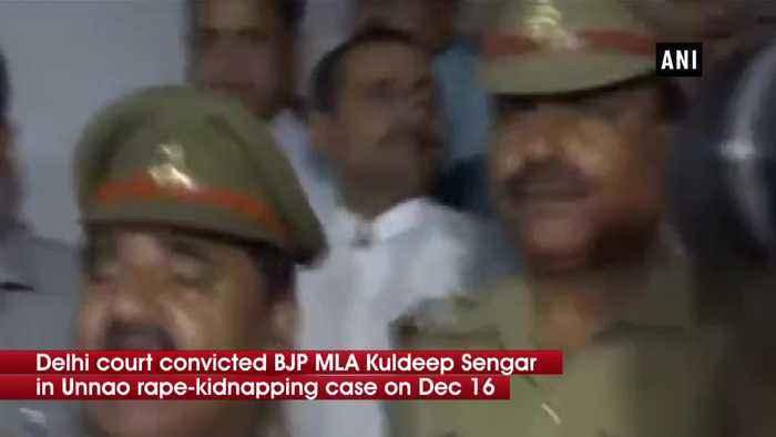 Unnao rape case Kuldeep Sengar found guilty quantum of sentence will be pronounced tomorrow