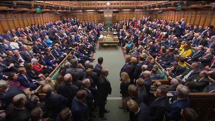 Jeremy Corbyn cheered by Conservatives on return to Commons