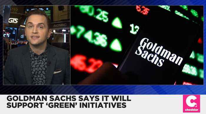 Goldman Sachs Will Help Fund Climate Change Initiatives