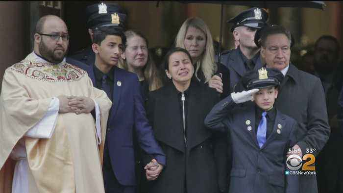 Jersey City Shooting: Fallen Detective Laid To Rest