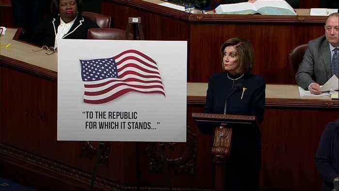 Pelosi: Trump 'gave us no choice' on impeachment