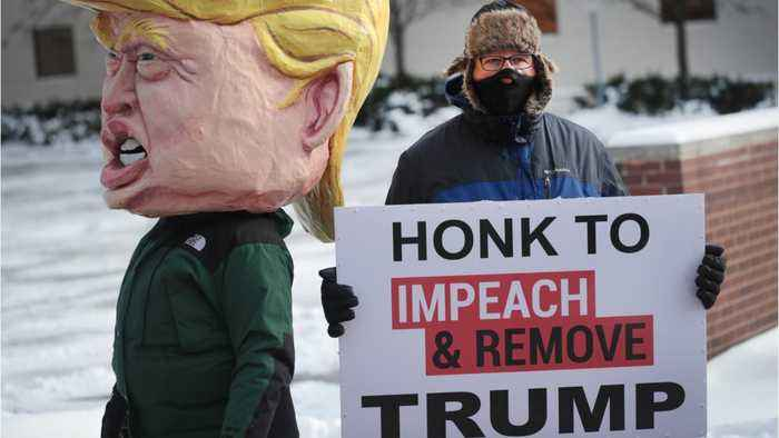 Impeachment Trial: 'Trump A Threat To Democracy'