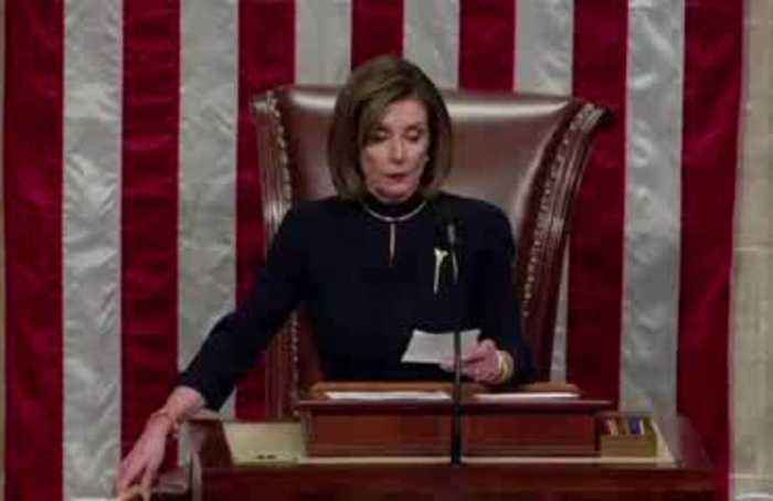 If looks could kill - Pelosi shuts down Democratic cheers on impeachment