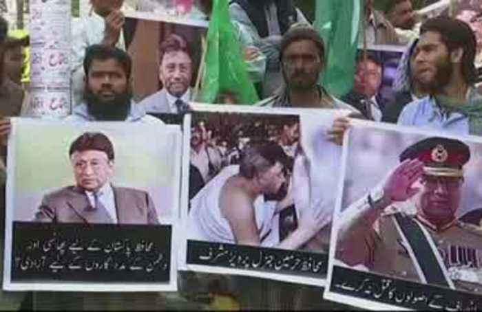 Pakistan's Musharraf calls death sentence 'personal'
