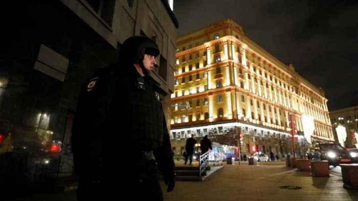 Russia: FSB officer killed in shooting outside agency HQs