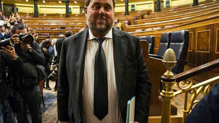 EU top court rules Catalan separatist Junqueras was MEP with immunity when jailed in Spain