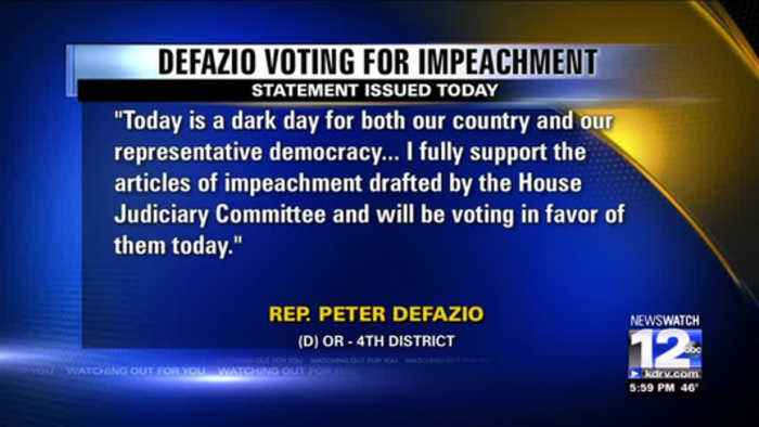 House votes to impeach President Donald Trump