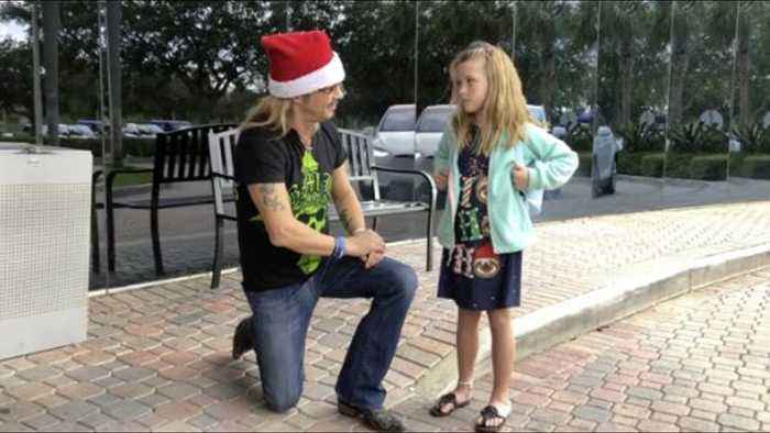 Rock star Bret Michaels provides Abaco family with Christmas surprise of a lifetime