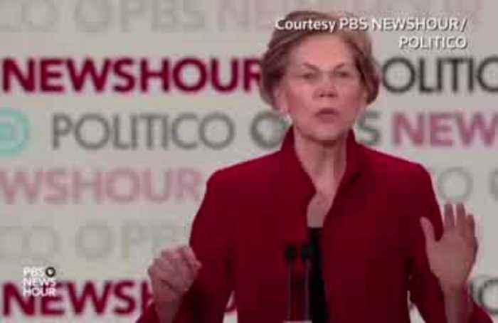 Buttigieg, Warren spar over fundraisng at debate