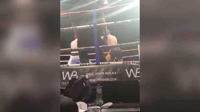 Love Island's Curtis Pritchard swaps ballet shoes for boxing gloves