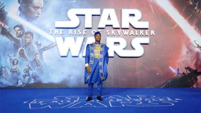 John Boyega's sister designed Nigerian outfits for 'Star Wars' premiere