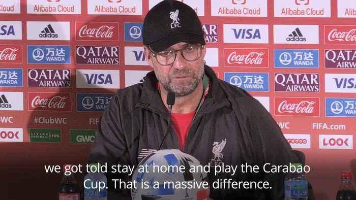 Jurgen Klopp keen to change European perception of Club World Cup